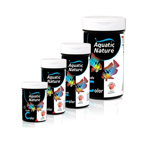 AQUATIC NATURE CODE COLOR FLAKE FOOD