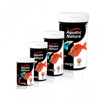 AQUATIC NATURE CODE ENERGY FLAKE FOOD