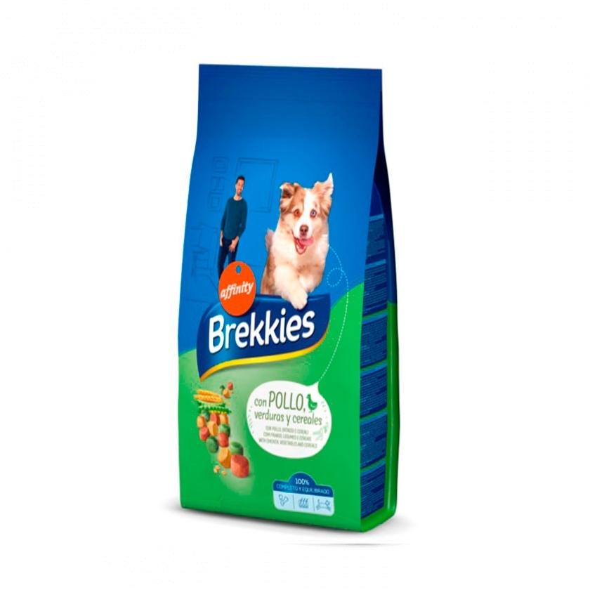 BREKKIES EXCEL DOG CON POLLO Y CEREALES