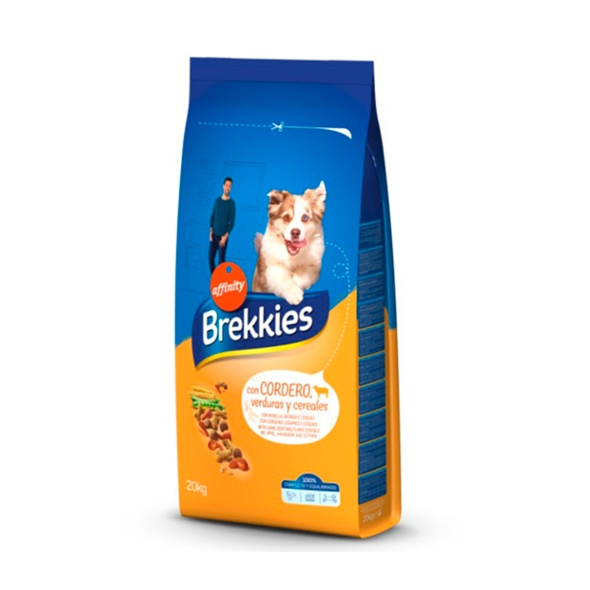 BREKKIES EXCEL DOG CORDERO Y ARROZ