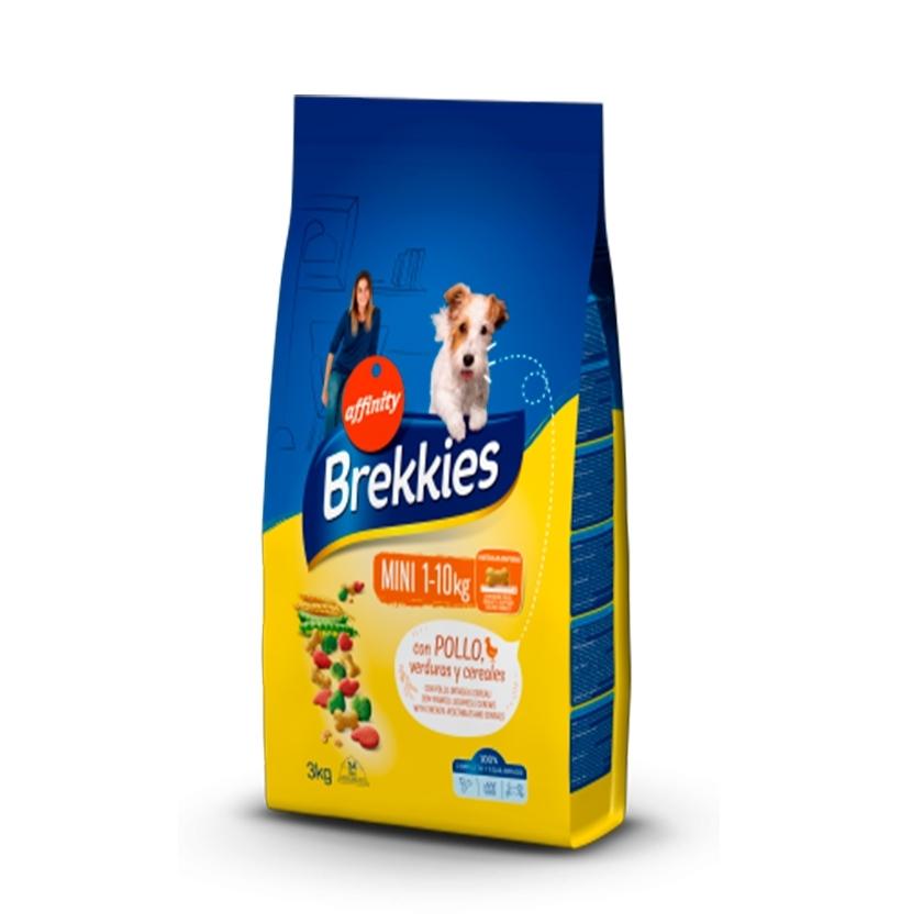 BREKKIES EXCEL DOG MINI POLLO