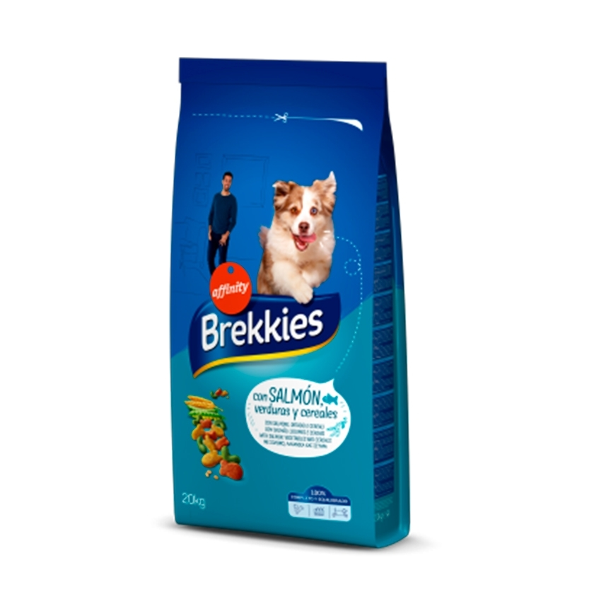 BREKKIES EXCEL DOG SALMON Y VERDURAS