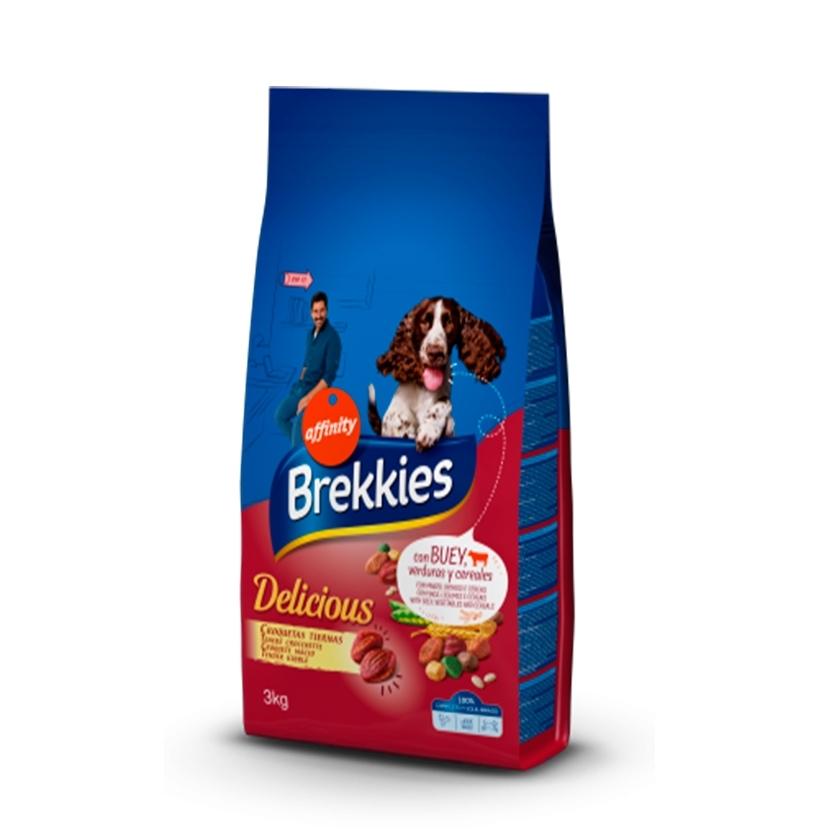 BREKKIES EXCEL DOG TENDER & DELICIOUS BUEY