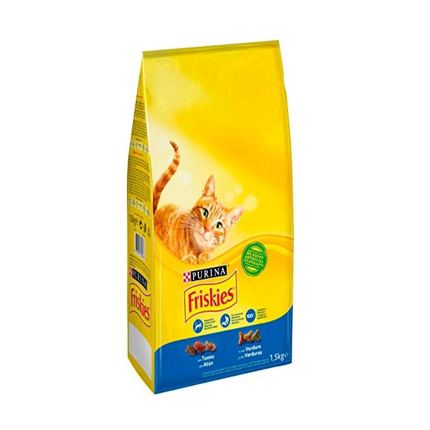 FRISKIES CAT ADULT CON ATUN Y VERDURAS