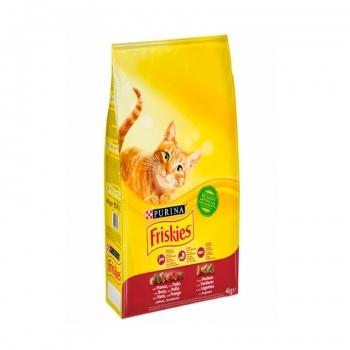 FRISKIES CAT ADULT CON BUEY, HIGADO Y VERDURAS - 1