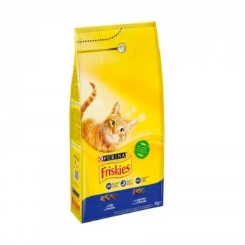 FRISKIES CAT ADULT BACALAO Y VERDURAS