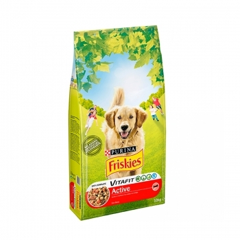FRISKIES DOG ADULT ACTIVE CARNE