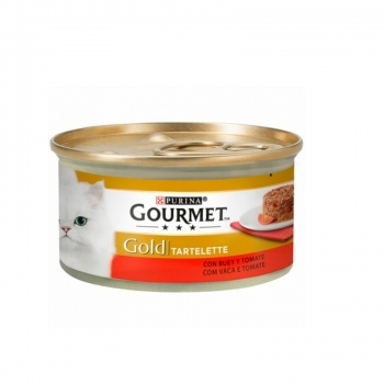 GOURMET GOLD TARTELETTE BUEY Y TOMATES
