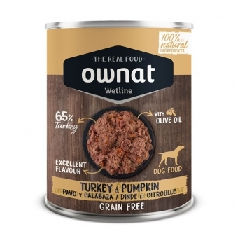 OWNAT DOG WET TURKEY&PUMPKIN