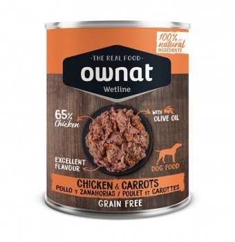 OWNAT DOG WET CHICKEN&CARROTS