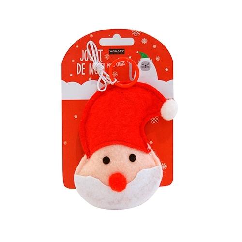 CHRISTMAS TOY CAT PAPA NOEL FIELTRO