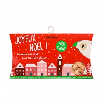 CHRISTMAS POUCH DOG SNACKS 200G