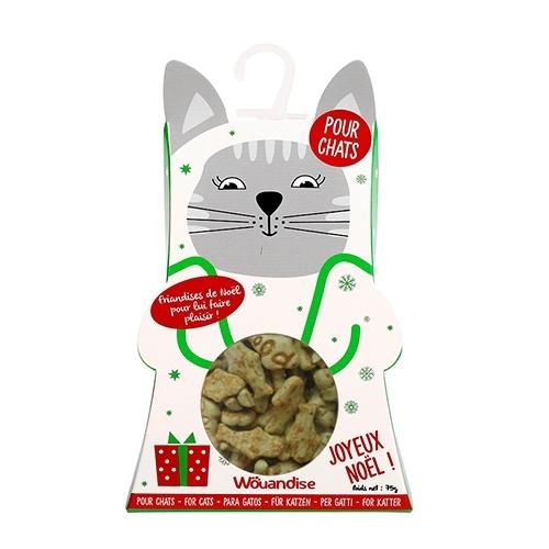 CHRISTMAS SNACKS CAT BOX SALMON-CATNIP 90G