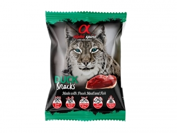 ALPHASPIRIT CAT SNACKS PATO - 1