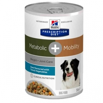 HILL'S PRES. DIET CANINE METABOLIC+MOBILITY ATUN LATA 354G