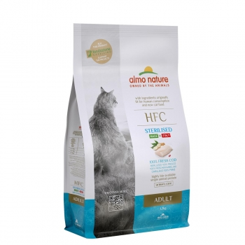 CAT DRY HFC ADULT STERILIZED BACALAO - 2