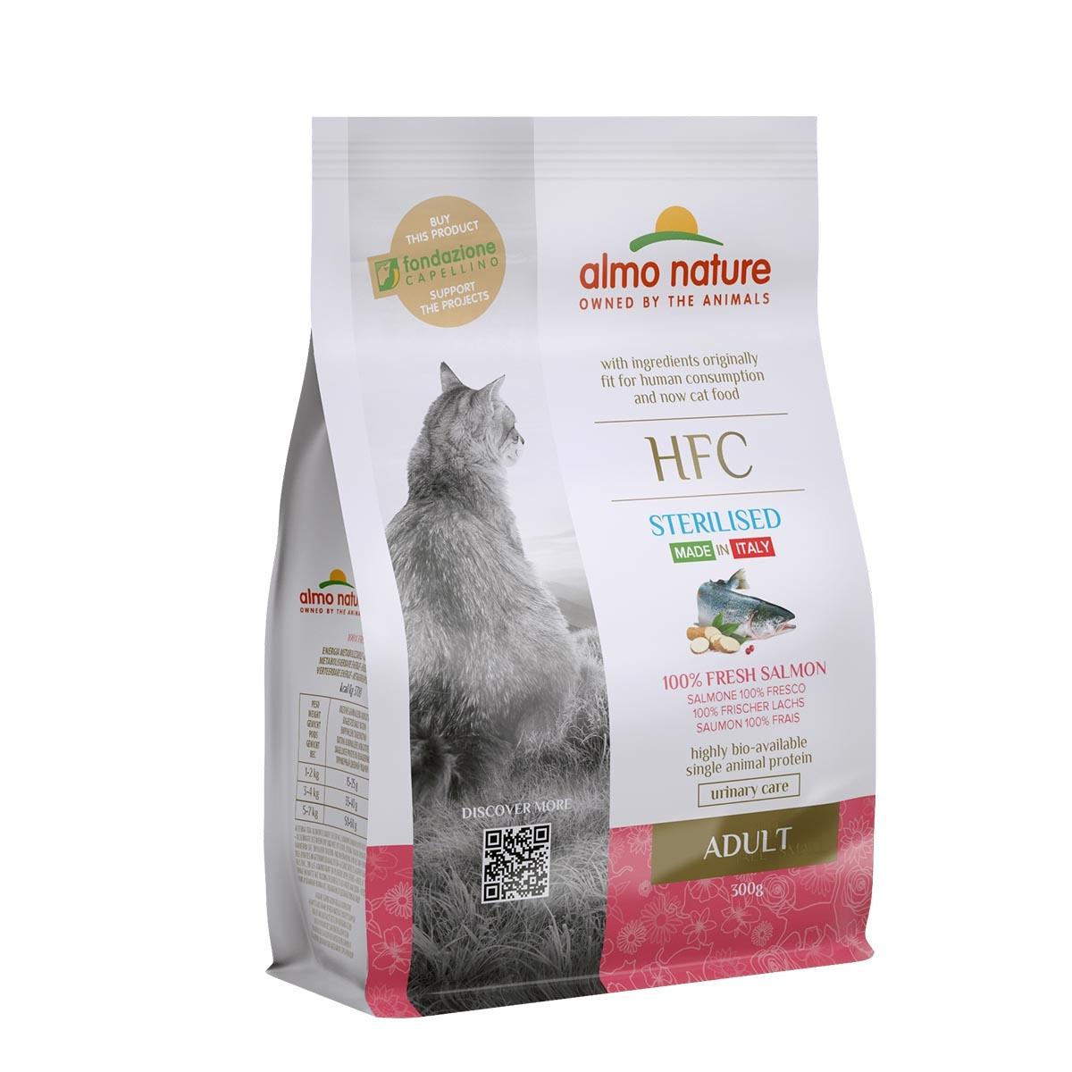 CAT DRY HFC ADULT STERILIZED SALMON