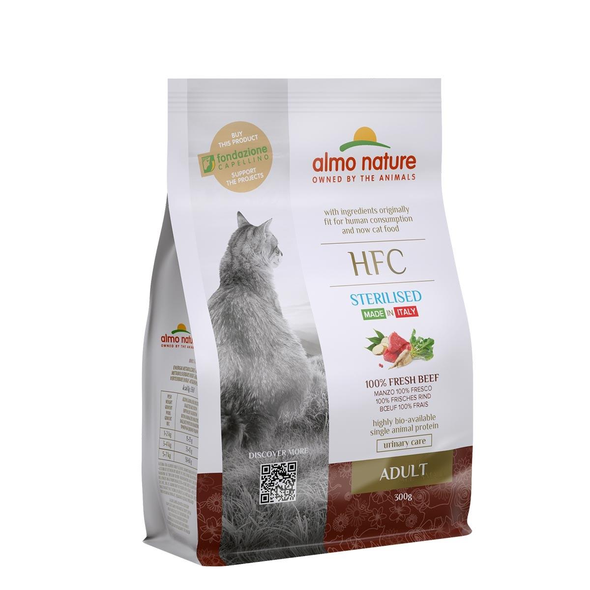CAT DRY HFC ADULT STERILIZED TERNERA