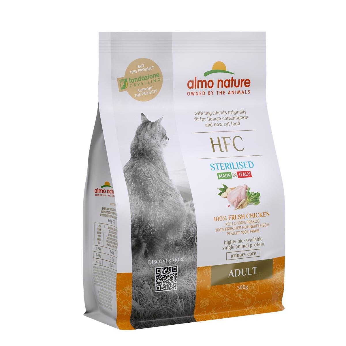 CAT DRY HFC ADULT STERILIZED POLLO