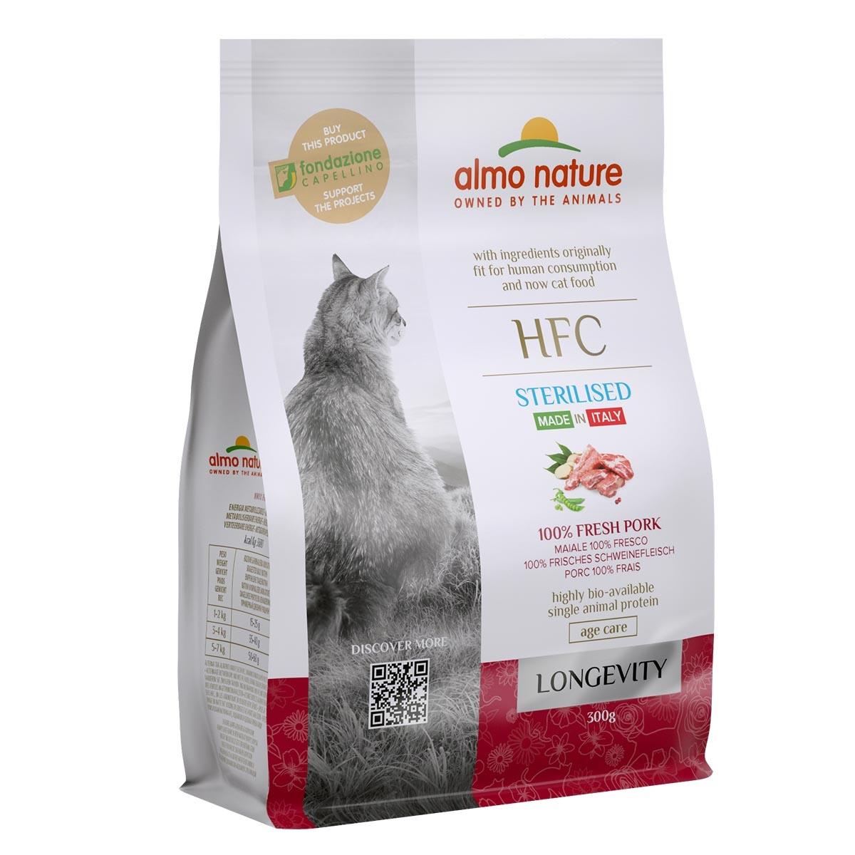 CAT DRY HFC LONGEVITY STERILIZED CERDO