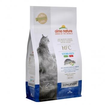 CAT DRY HFC LONGEVITY STERILIZED LUBINA Y BESUGO - 2