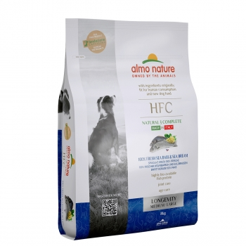 DOG DRY HFC ADULT MED-LAR LONGEVITY LUBINA Y BESUGO - 2