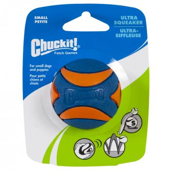 CHUCKIT ULTRA SQUEAKER BALL - 2