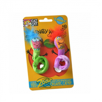 CLASSIC SPRINGY WORMS - 2CT - 2