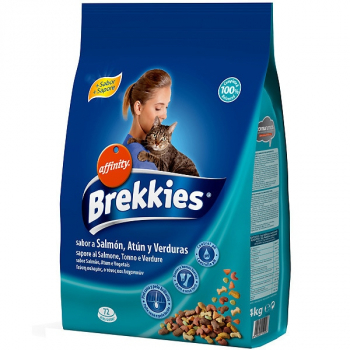 BREKKIES EXCEL CAT SALMON, ATUN Y VERDURAS