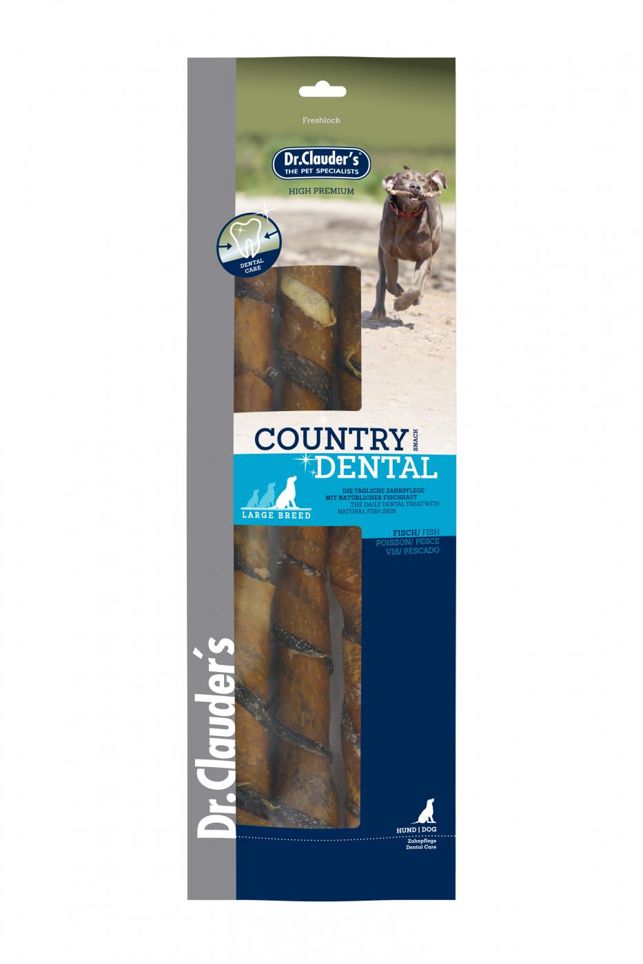 DOG SNACK COUNTRY DENTAL PESCADO