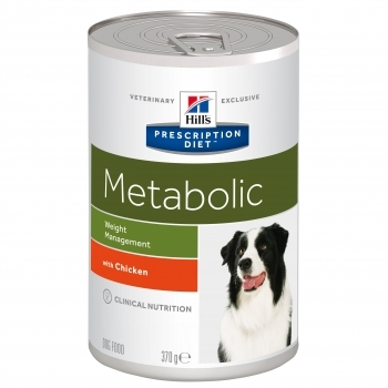 HILL'S PRES. DIET CANINE METABOLIC LATA