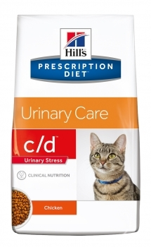 HILL'S PRES. DIET FELINE C/D URINARY STRESS