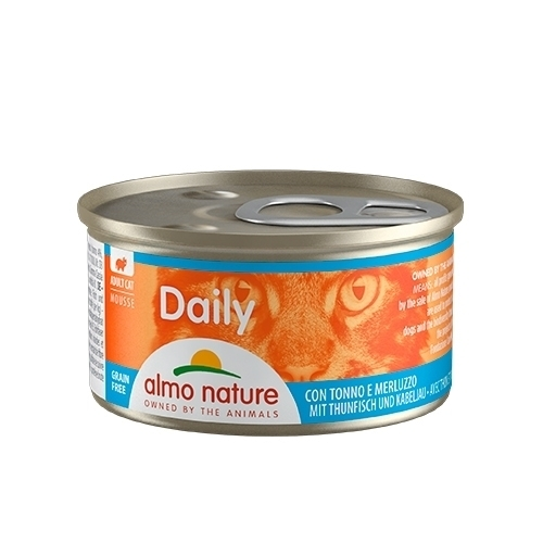 CAT WET DAILY GRAIN FREE MOUSE 85G