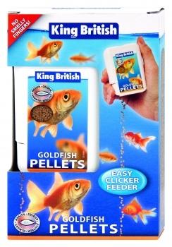 GOLDFISH PELLETS EASY CLICKER FEEDER