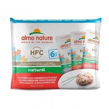 CAT HFC NATURAL MULTIPK 6X55G