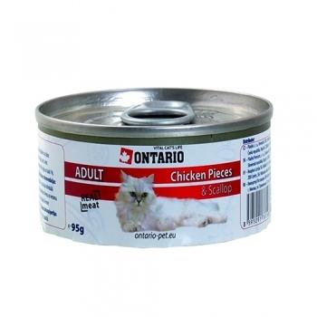 ONTARIO CAT CHICKEN PIECES, SCALLOP