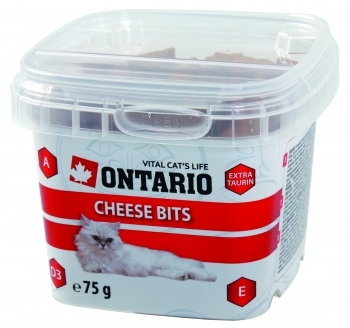 ONTARIO CAT SNACK CHEESE POULTRY TAURIN BITS