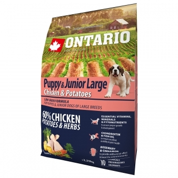 ONTARIO PUPPY & JUNIOR LARGE CHICKEN & POTATOES