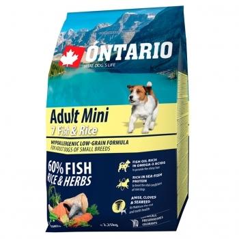 ONTARIO ADULT MINI 7 FISH & RICE