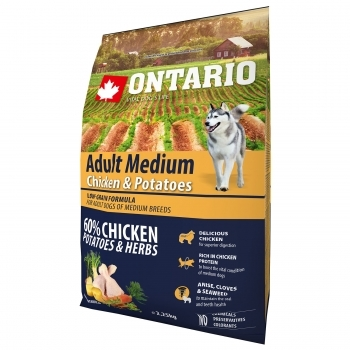 ONTARIO ADULT MEDIUM CHICKEN & POTATOES
