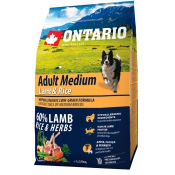 ONTARIO ADULT MEDIUM LAMB & RICE