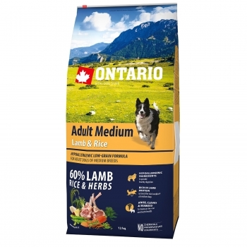 ONTARIO ADULT MEDIUM LAMB & RICE - 3