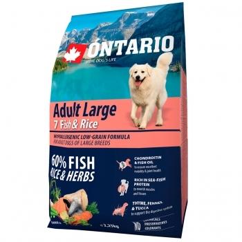 ONTARIO ADULT LARGE 7 FISH & RICE