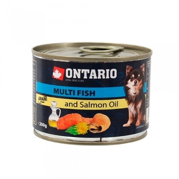 ONTARIO MINI MULTI FISH, SALMON OIL