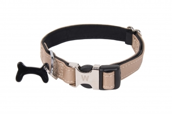 COLLAR BLACK BONE BEIGE