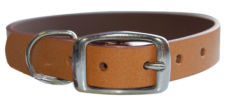 COLLAR RIDING LEATHER NATURAL