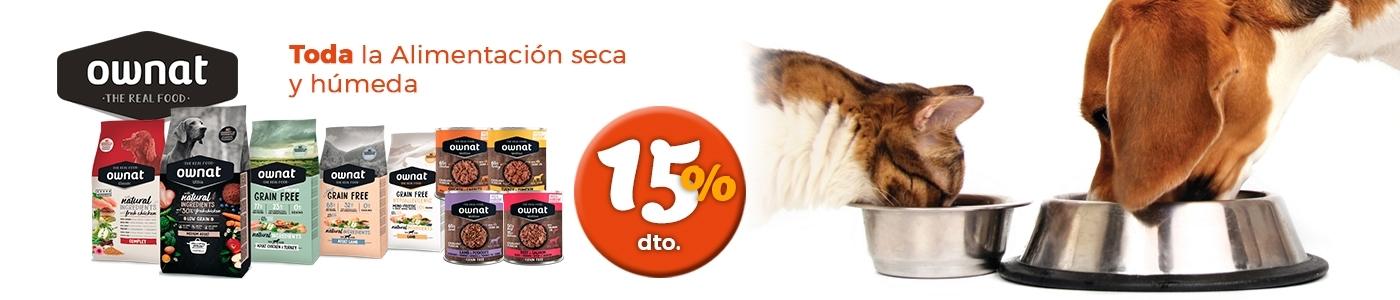 Promoción alimentación seca y húmeda perros y gatos Ownat