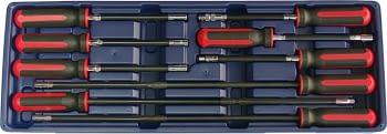 Juego de 9 destornilladores flexibles