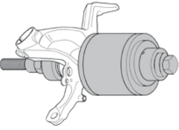Kit completo extractor/colocador de rodamientos de bujes - 1