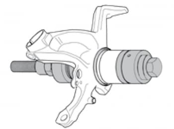 Kit completo extractor/colocador de rodamientos de bujes - 2